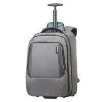 "Samsonite Cityscape Tech Laptop Backpack 17.3"" Wheels Steel Grey"