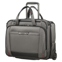 "Samsonite Pro-DLX 5 Business Case Wheels 15.6"" Expandable Magnetic Grey"