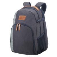 Samsonite Rewind Natural Laptop Backpack L Expandable River Blue