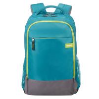 American Tourister Urban Groove UG Backpack 1 Light Blue/ Lime