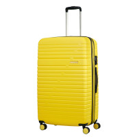 American Tourister Aero Racer Spinner 79 Expandable Lemon Yellow