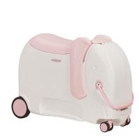 Samsonite Dream Rider Deluxe Suitcase Elephant Peachy