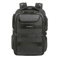 "Samsonite Bleisure Backpack 15.6"" Expandable Overnight Anthracite"