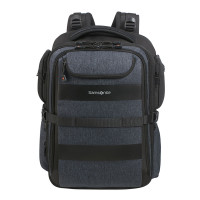 "Samsonite Bleisure Backpack 15.6"" Expandable Overnight Dark Blue"