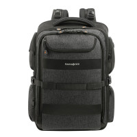"Samsonite Bleisure Backpack 17.3"" Expandable Overnight+ Anthracite"