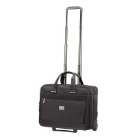 "Samsonite Waymore Rolling Tote 15.6"" Black"