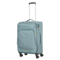 American Tourister Summerfunk Spinner 67 Expandable Metal Grey