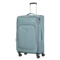 American Tourister Summerfunk Spinner 79 Expandable Metal Grey