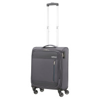American Tourister Heat Wave Spinner 55 Charcoal Grey