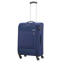 American Tourister Heat Wave Spinner 68 Combat Navy