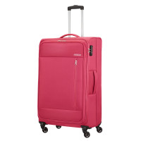 American Tourister Heat Wave Spinner 80 Magenta