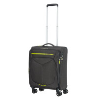 American Tourister Summerfunk Spinner 55 Expandable Neon Lime
