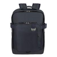 "Samsonite Midtown Laptop Backpack L 15.6"" Expandable Dark Blue"