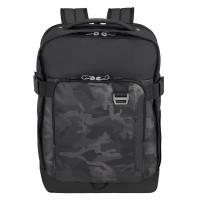"Samsonite Midtown Laptop Backpack L 15.6"" Expandable Camo Grey"
