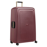 Samsonite S'Cure Deluxe Spinner 81 Burgundy/Gold Deluscious