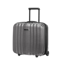 Samsonite Lite-Cube DLX Rolling Tote Plus Eclipse Grey