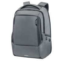 "Samsonite Cityscape Tech Laptop Backpack 17.3"" Expandable Steel Grey"