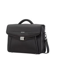Samsonite Desklite Briefcase 2 Vaks 15.6'' Black
