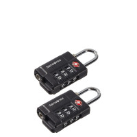 Samsonite Travel Accessoires Safe US Air Tr. 3 Combi Lock Black