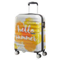 American Tourister Wavebreaker Spinner 55 Limited Summer Edition Hello Summer