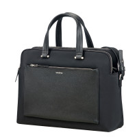 "Samsonite Zalia Organized Bailhandle 14.1"" Black"