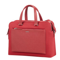 "Samsonite Zalia Organized Bailhandle 14.1"" Red"