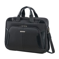 "Samsonite XBR Bailhandle Slim 1 Compartiment 15.6"" Black"