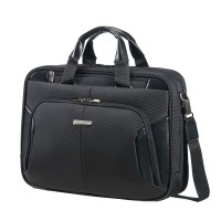 "Samsonite XBR Bailhandle 2 Compartiments 15.6"" Black"