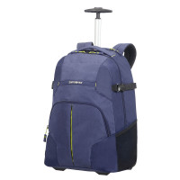 Samsonite Rewind Laptop Backpack Wheels 55 Dark Blue