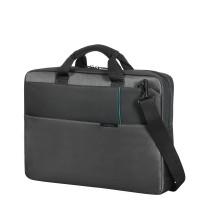 "Samsonite Qibyte Laptop Schoudertas 17.3"" Anthracite"