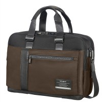 "Samsonite Openroad Bailhandle 15.6"" Expandable Chestnut Brown"