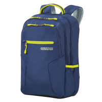 "American Tourister Urban Groove UG6 Laptop Backpack 15.6"" True Navy/ Lime"