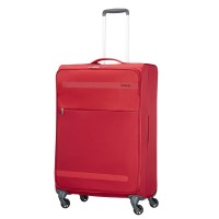 American Tourister Herolite Super Light Spinner 74 Formula Red