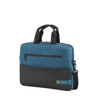 "American Tourister City Drift Laptop Bag 13.3""-14.1"" Black/Blue"