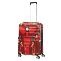 American Tourister Wavebreaker Marvel Spinner 67 Iron Man Close-Up