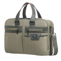 """Samsonite Zenith Bailhandle 15.6"""" Expandable Taupe"""