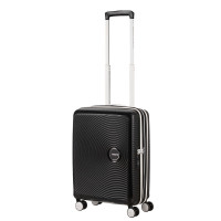 American Tourister Soundbox Spinner 55 Exp. Black/White