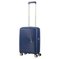 American Tourister Soundbox Spinner 55 Exp. Midnight Navy