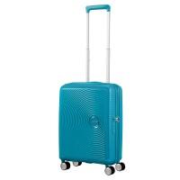 American Tourister Soundbox Spinner 55 Exp. Summer Blue