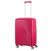 American Tourister Soundbox Spinner 67 Exp. Lightning Pink