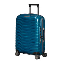 Samsonite Proxis Spinner 55 Expandable Petrol Blue