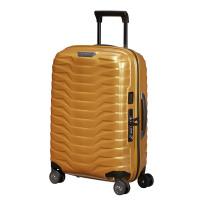 Samsonite Proxis Spinner 55 Expandable Honey Gold
