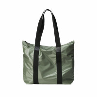 Rains Original Tote Bag Rush Schoudertas Shiny Olive