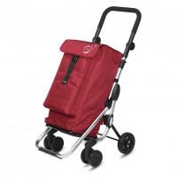 Playmarket Go Up Boodschappentrolley Charm Red