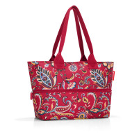 Reisenthel Shopper E1 Paisley Ruby