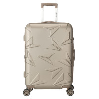 Decent Q-Luxx Trolley 67 Expandable Champagne