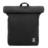 """Lefrik Eco Roll Backpack 15"""" Black"""