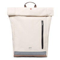 "Lefrik Eco Roll Backpack 15"" Reflective Ecru"