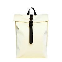 Rains Original Roll Top Mini Backpack Pearl