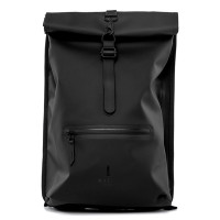 Rains Original Roll Top Rucksack Black